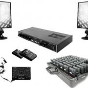 Многоканальный комплекс аппаратуры для синхронного перевода речи АСП-6 фото