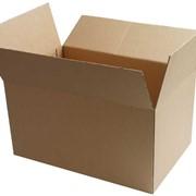 Изготовление тары из картона под заказ. Паки картонные из первичного картона, из вторичного картона. Изготовим под ваши размеры картонную тару. фото