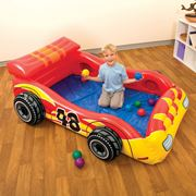 Надувной игровой центр 'Гонщик' Intex Ball Toyz 48665 фото
