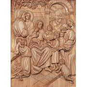 """Икона """"Иисус Христос благословляет детей"""" фото"""