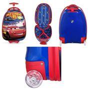 Детский чемодан на колесиках Disney Cars фото