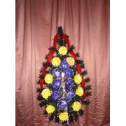 Венок похоронный/размер: 110-45 фото