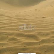 Песок абразивный фото