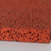 Наливное покрытие однослойное из резиновой крошки фото
