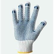 Перчатки рабочие, Х/б перчатка с ПВХ-точкой, Киев фото