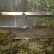 Противень поднос лоток нержавейка алюминий фото