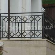 Кованый балкон 1 фото