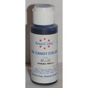 Краситель масляный AmeriColor Blue 18 г (цвет СС02.65) фото