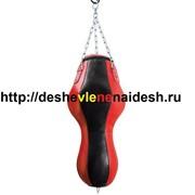 Боксёрский мешок из натуральной кожи тип Силуэт ( МБНГ22-15 , 35(Верхний диаметр), высота 180 ,вес 85-90 кг ) 618 фото