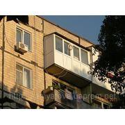 Французское остекление балкона в днепре (устройство балконов.