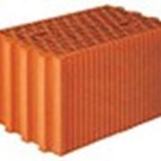 Поризованный крупноформатный кирпич керамический фото