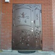 Двери кованые фото