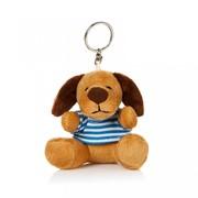 Брелок Пес Бобби в тельняшке 8см. MT-BR011315-8 фото