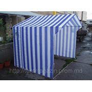 Палатка торговая 1,5х1,5 ткань oxford метал 16 фото