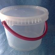 Ведро пластиковое 2,3л фото