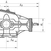 Редукторы коническо-цилиндрические двухступенчатые, тип КЦ1 фото