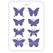 Трафарет Мотивы бабочек фото