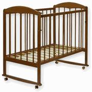 Детская деревянная кроватка-качалка Женечка-1 фото