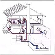 Монтаж систем водопровода отопления канализацыи фото