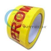 """Скотч с надписью """"Promotie"""" 48мм*90м (на желтом фоне) фото"""