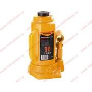 Домкрат гидравлический бутылочный, 10 т, h подъема 200-385 мм// SPARTA фото