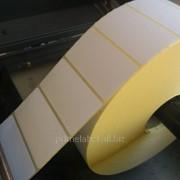 Термоэтикетки 58х30, 6000 этикеток в роле фото