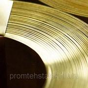 Лента латунная 90х0.3 мм фото