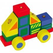 Конструктор-автомобиль пластмассовый фото
