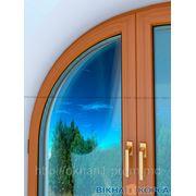 Металлопластиковые арочные окна фото