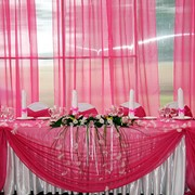 Украшения для свадебного стола фото