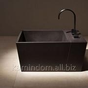 Ванна для ног квадратная с приставкой для смесителя фото