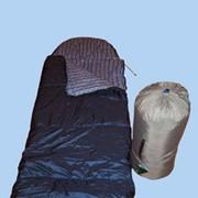 Спальник-одеяло с подголовником из шерсти мериноса фото