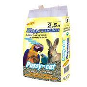 Наполнитель для грызунов и попугаев (25 литра) Pussy-Cat. фото