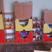 Детская игровая стенка Три медведя фото