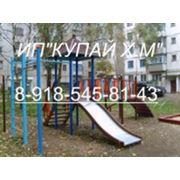 Изготовление и доставка детских игровых площадок. фото