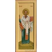 Мерная икона Святой Василий Великий, архиепископ Кесарийский фото