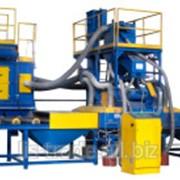 Установка дробемётная проходная для очистки листового металлопроката с шириной 1500 мм УДП-600х1520-4/11П и УДП-100х1520-4/11П фото
