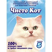 Наполнитель для кошачьего туалета Чисто Кот фото