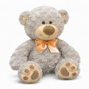 Медведь Бэтти (серый) фото