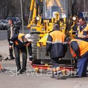 Дорожные работы, Газопровод фото
