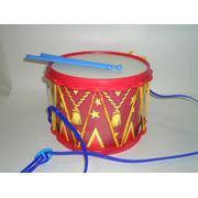 """Игрушка-барабан""""парадный"""" фото"""