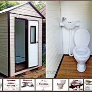 Дачный душ с туалетом ДТ-18 фото