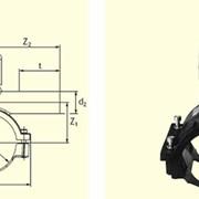 Вентиль для врезки с удлиненным патрубком DAV d160/50 фото