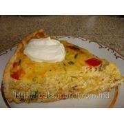 Пирог рыбный с овощами фото