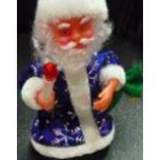 Дед Мороз со свечой 21 см фото