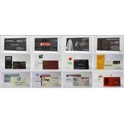 Визитные карточки. Шелкография фото