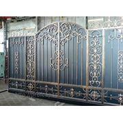 Изготовление металлических ворот Кишинев фото