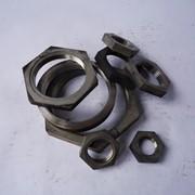 Контргайка стальная 15 ГОСТ 8968-75, оцинкованная фото