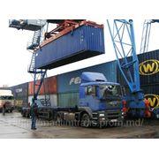 Автодоставка контейнеров из портов Одесса и Ильичевск фото