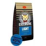Полноценное питание для менее активных или пожилых кошек с избыточным весом (в т.ч. кастрированных / стерилизованных) EXCLUSIVE LIGHT фото